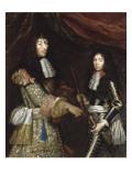 Louis II de Bourbon  4° prince de Condé  dit le Grand Condé (1621-1686) et son fils aîné