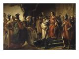 """Saint-Louis reçoit à Saint-Jean d'Acre (Ptolémaïs) les envoyés de Rachid el Din Sinan  dit """"le"""