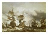Combat du Texel le 29 juin 1694  victoire de Jean Bart sur l'escadre hollandaise de l'amiral de