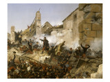 Episode de la conquête de l'Algérie en 1837  second siège de Constantine pa