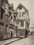 View of a Street of Rouen  France
