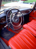 Interior of a Simca Présidence  1958 Model