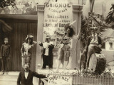 Paris  1900 World Exhibition  A Street Show