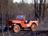 Willys Jeep for Firefighting