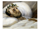 Vernet  Napoleon on His Death Bed