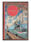 "Jules Verne  ""The 500 Millions of the Begum""  Cover"