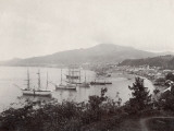 West Indies  View of St Pierre  Martinique