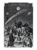 "Jules Verne  ""Hector Servadac""  Frontispiece"