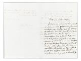 Lettre autographe signée Eugène Delacroix à PA Berryer  3 Septembre 1845