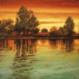 River Sunset I