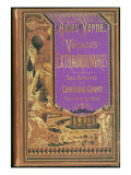 "Jules Verne  ""The Children of Captain Grant Travel around the World""  Cover"