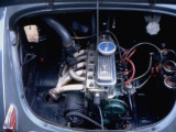 4-Cylinder Renault Engine on the 4 CV