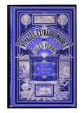 "Jules Verne  Cover of ""School for Robinsons"" and ""The Green Ray"""