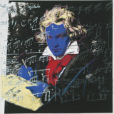 Beethoven  c1987 (blue face)