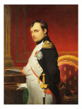 Delaroche  Portrait de l&#39;empereur Napol 1er dans son cabinet