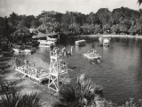 Panoramic View of Silver Springs  Florida