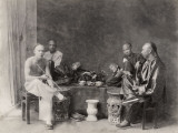 China  Opium Smokers