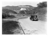 Hollywoodland  Los Angeles c1924