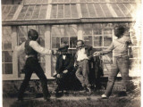 Charles Hugo Making Fencing