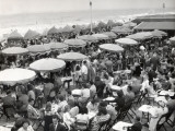 Café Terrace in Deauville  France (1948)