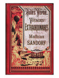 "Jules Verne  Cover of ""Mathias Sandorf"""