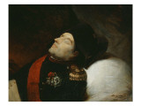 Mauzaisse  Napoleon on His Death Bed