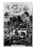 """Jules Verne  """"Two Years Holiday""""  Frontispiece"""