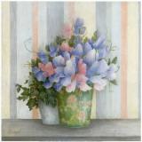 Pot Fleurs Bleues