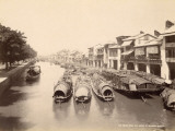 The Canal Seen from Shameen Bridge in Canton (China)