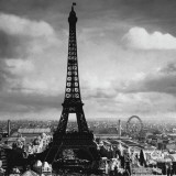 The Eiffel Tower  Paris France  c1897