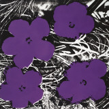 Flowers, c.1965 (4 purple) Reproduction d'art par Andy Warhol