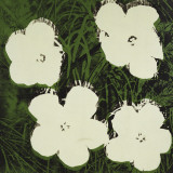 Flowers (White)  c 1964