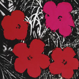 Flowers (Red and Pink)  c1964