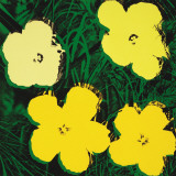 Flowers  c1970 (4 yellow)