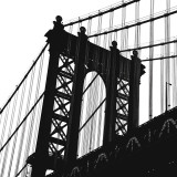 Manhattan Bridge Silhouette (detail)