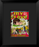 Marvel Comics Retro: My Love Comic Book Cover 18  Kissing  Love on the Rebound