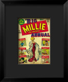 Marvel Comics Retro: Millie the Model Comic Book Cover 1  the Big Annual