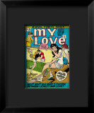 Marvel Comics Retro: My Love Comic Book Cover 16  Tennis  Pathos and Passion