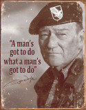John Wayne - Man&#39;s Gotta Do