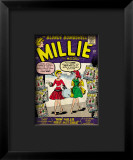 Marvel Comics Retro: Millie the Model Comic Book Cover 100  How Millie First Met Chili!