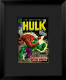 Marvel Comics Retro: The Incredible Hulk Comic Book Cover 106  Titan Rages