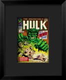 Marvel Comics Retro: The Incredible Hulk Comic Book Cover 102  Big Premiere Issue