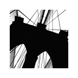 Brooklyn Bridge Silhouette (detail)