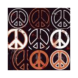 Peace Mantra (orange)