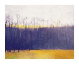 Gray-Violet Landscape