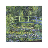Water Lily Pond  c1899 (blue)