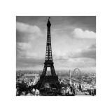 The Eiffel Tower  Paris  France  c1897