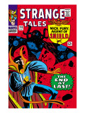 Strange Tales 146 Cover: Dr Strange and Eternity