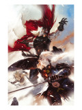Thor: Man Of War 1 Cover: Thor and Odin