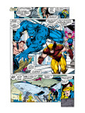 X-Men No1 Group: Beast  Wolverine and Psylocke
